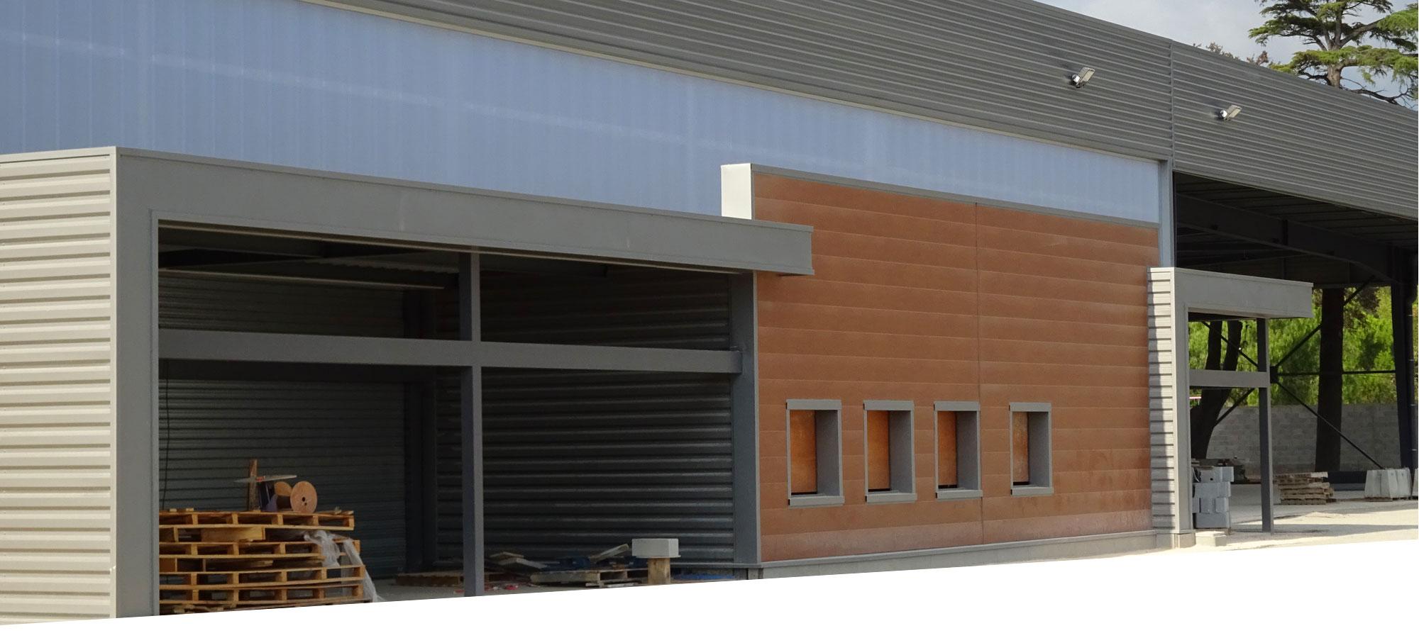 CICM réalisation batiment commercial magasin gedimat