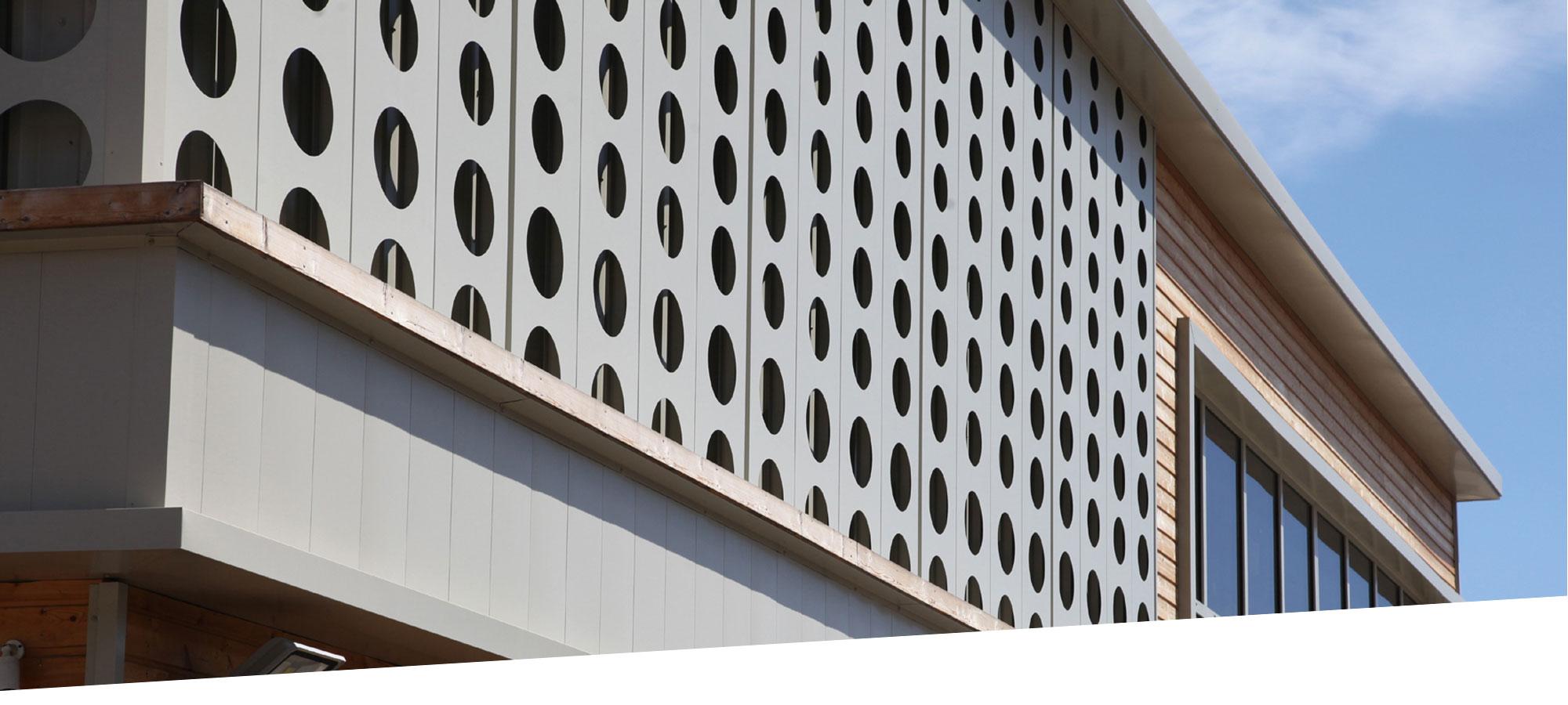 CICM conception batiments centre commercial